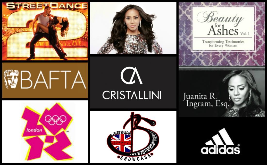 JADE PR, ADIDAS, LONDON OLYMPICS, CRISTALLINI, LUXURY PR, BOOK PR, JUANITA INGRAM, BEAUTY FOR ASHES, BLESSED SOULS UK, STREET DANCE, BAFTA, BAFTA AWARDS, PR, UK